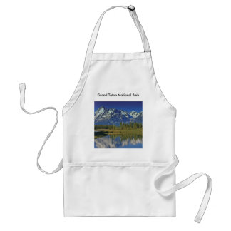 Grand Teton National Park Series 4 Standard Apron