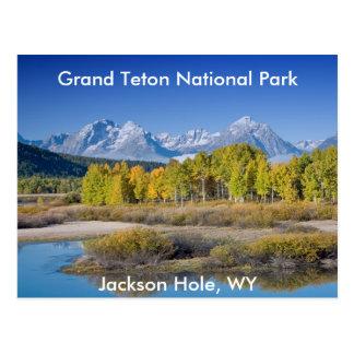 Grand Teton National Park Series 6 Postcard