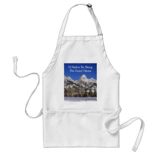 Grand Teton National Park Skiing Standard Apron