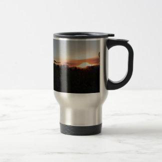 Grand Teton National Park Sunset Travel Mug