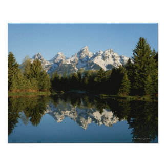 Grand Teton National Park, Teton Range, Wyoming, Print
