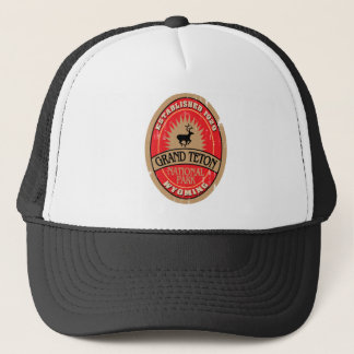 Grand Teton National Park Trucker Hat