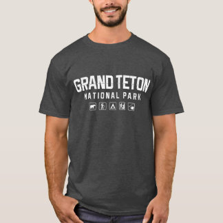 Grand Teton National Park Tshirt (dark)