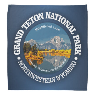 Grand Teton NP Bandana