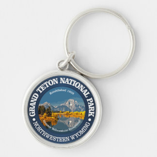Grand Teton NP Key Ring