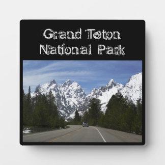 Grand Teton Plaque