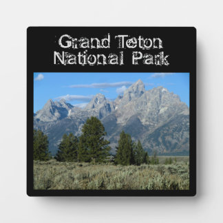 Grand Teton Plaque