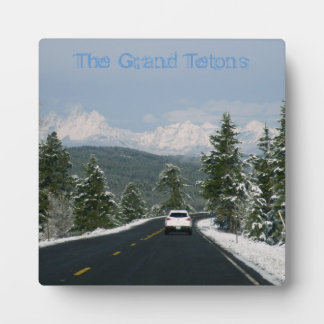 Grand Teton Plaque with easel