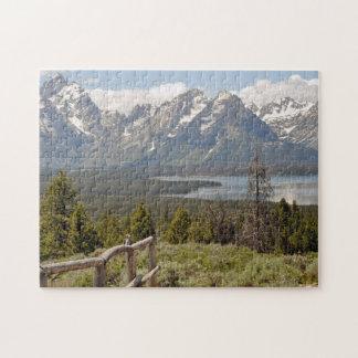 Grand Teton Scenic  Landscape Puzzle