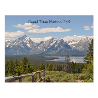 Grand Teton Scenic View Postcard