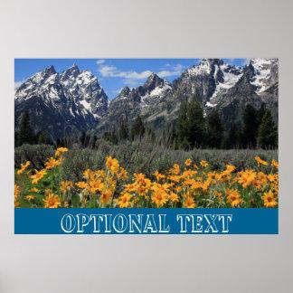 Grand Teton Springtime Souvenir Photo Print