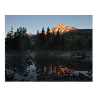 Grand Teton Sunrise at Cottonwood Creek Postcard