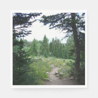 Grand Teton Trail Disposable Napkins