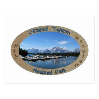 Grand Teton, US, wyoming national park Postcard