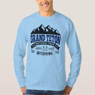 Grand Teton Vintage Blue T-Shirt