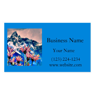 Grand Tetons Business Card Template