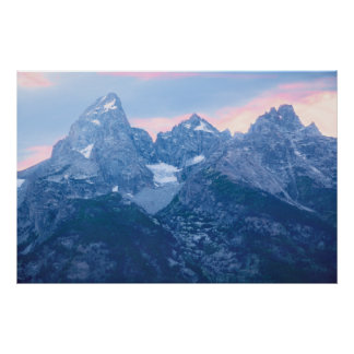 Grand Tetons Glacier Poster