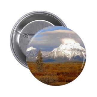 Grand Tetons In Autumn Pins