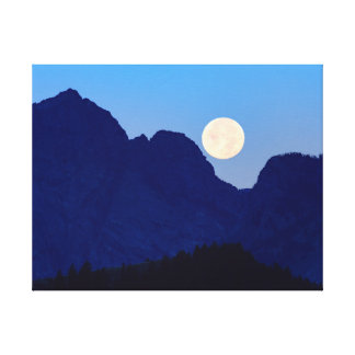 Grand Tetons National Park Canvas Print