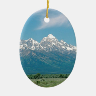 Grand Tetons National Park Ceramic Ornament