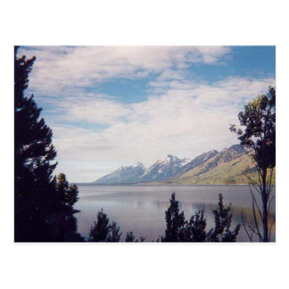 Grand Tetons National Park Postcard