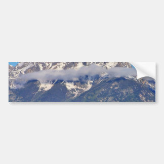 Grand Tetons Peaks In The Morning Bumper Stickers