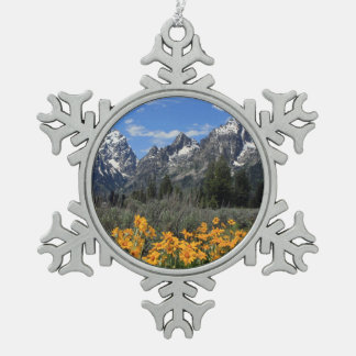 Grand Tetons Souvenir Christmas Ornament
