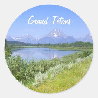 Grand Tetons Sticker