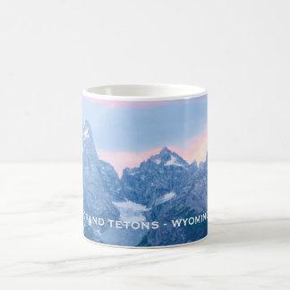 Grand Tetons Sunset Glacier Mug