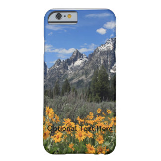 Grand Tetons with Yellow Flowers Barely There iPhone 6 Case