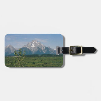 Grand Tetons- Wyoming Tag For Luggage