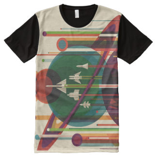 Grand Tour NASA Travel Poster All-Over Print Tee All-Over Print T-Shirt