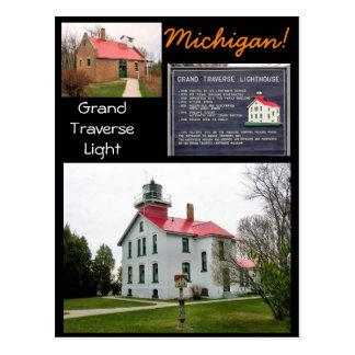 Grand Traverse Light Michigan! Postcard