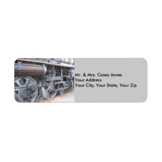 Grand Trunk Locomotive Return Address Label