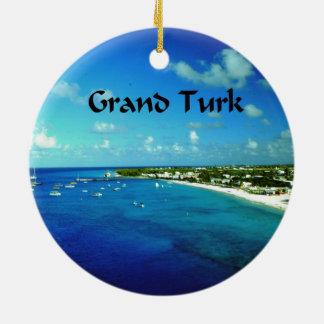 Grand Turk Ceramic Ornament