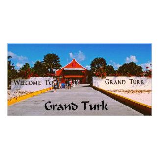 Grand Turk Customized Photo Card