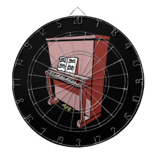 grand upright piano with music.png dartboard