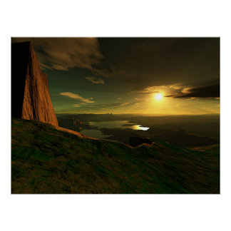 Grand View Canyon Poster