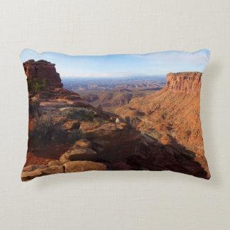 Grand View Point at Canyonlands National Park Decorative Cushion