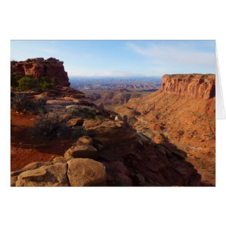 Grand View Point at Canyonlands National Park Greeting Card