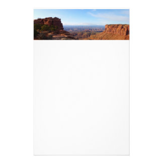 Grand View Point at Canyonlands National Park Personalised Stationery