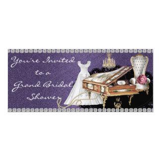 Grand Vintage Bridal Shower Invitation
