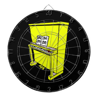 grand yellow upright piano with music.png dartboards