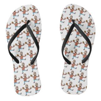 Grandad Flip Flops