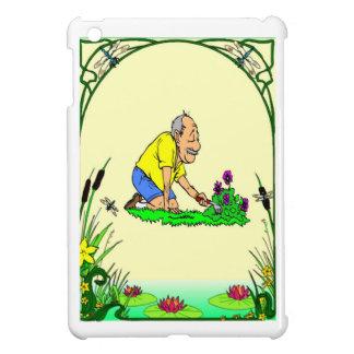 Grandad loves his garden iPad mini covers