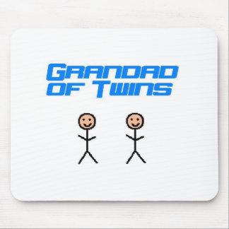 grandad of twins mouse pad