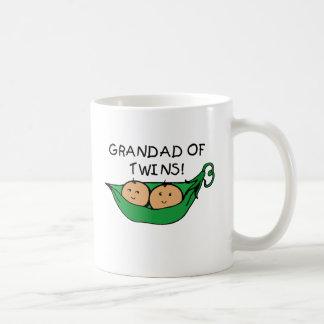 Grandad Twin Pod Basic White Mug