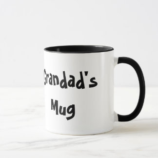 Grandad's Mug White Coffee Mug