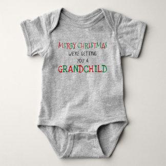 Grandchild for Christmas Baby Bodysuit