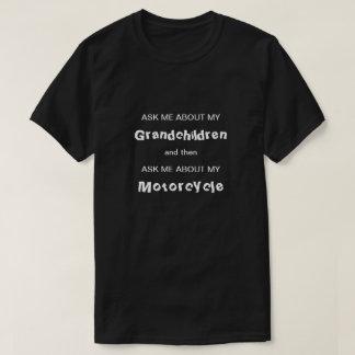 Grandchildren and Motorcycle T-Shirt